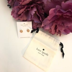 Kate Spade Perfectly Imperfect Oval Stud Earrings